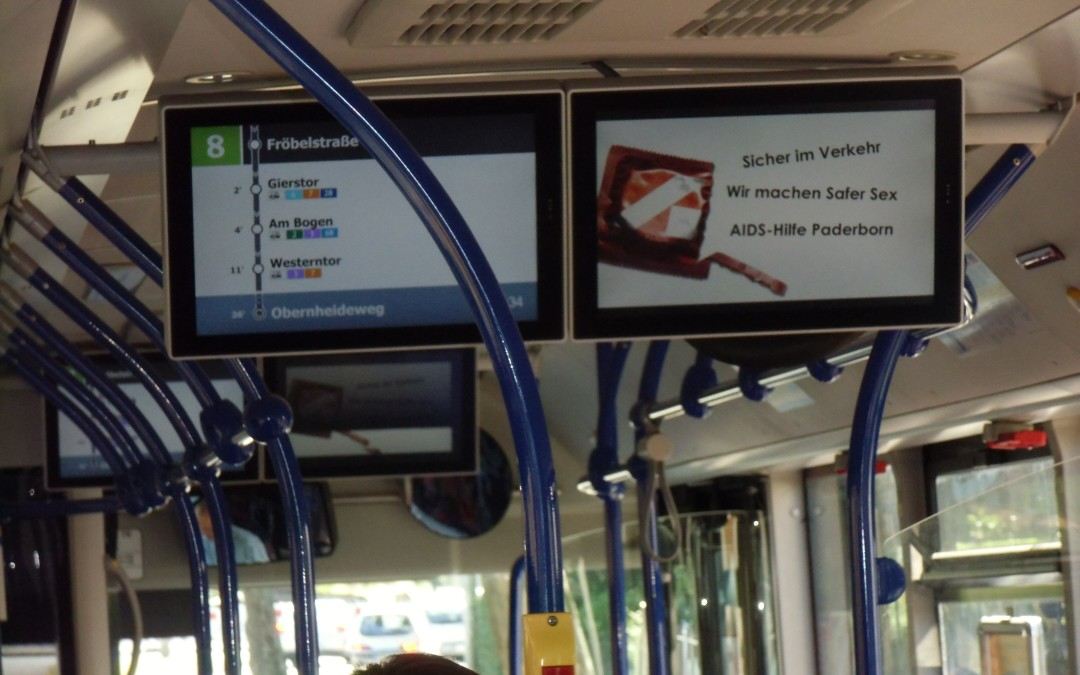 Video im Bus