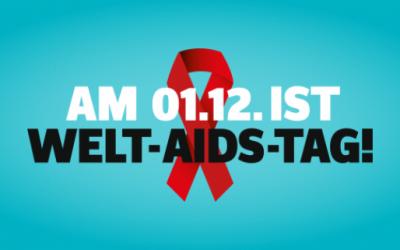 Aktionen zum Welt-Aids-Tag