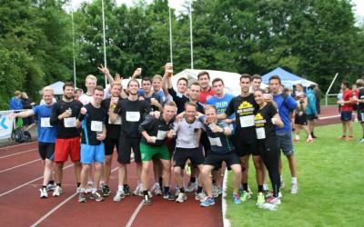 """""""Run for life"""" beim Campuslauf 2015"""