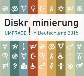Web-Banner Diskriminierung Umfrage in Deutschland 2015