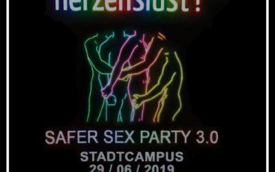 Safer Sex 3.0 Vernissage und Party zum 50sten Jubiläum von Stonewall