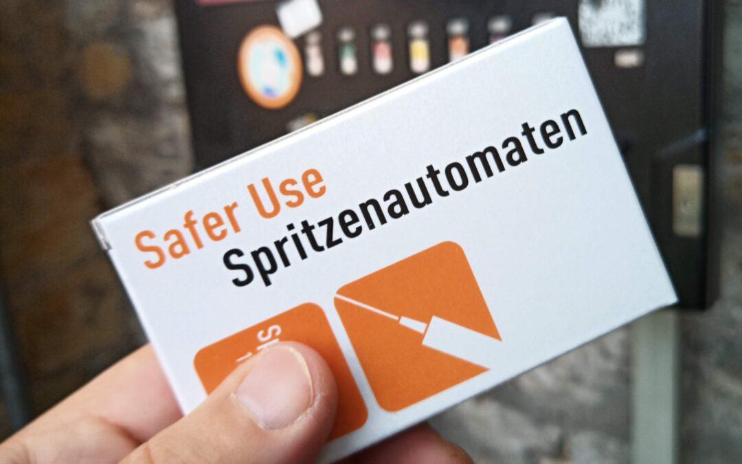 Spritzenautomaten sichern die Verfügbarkeit von sterilen Konsum-Utensilien